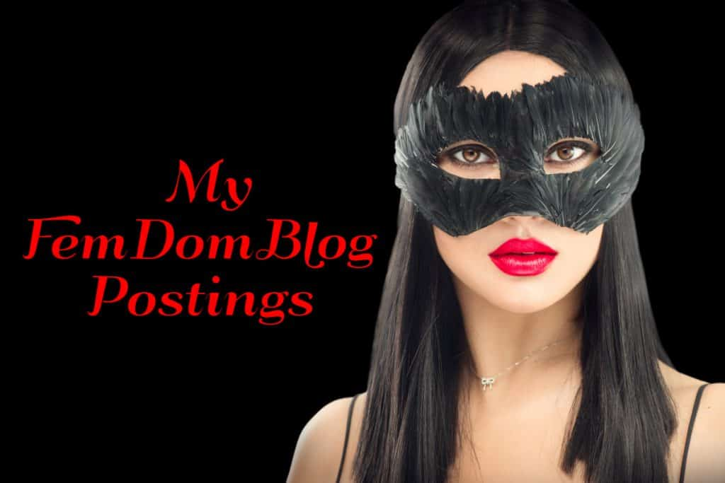FemDom Blog posts